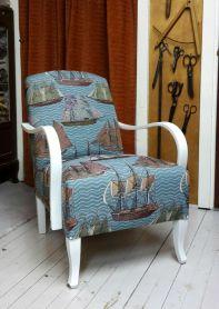 Kevyt nojatuoli, myytävänä - Lätt fåtölj, till salu